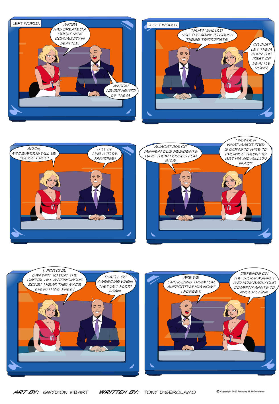 The Antiwar Comic:  Who Do You Believe?
