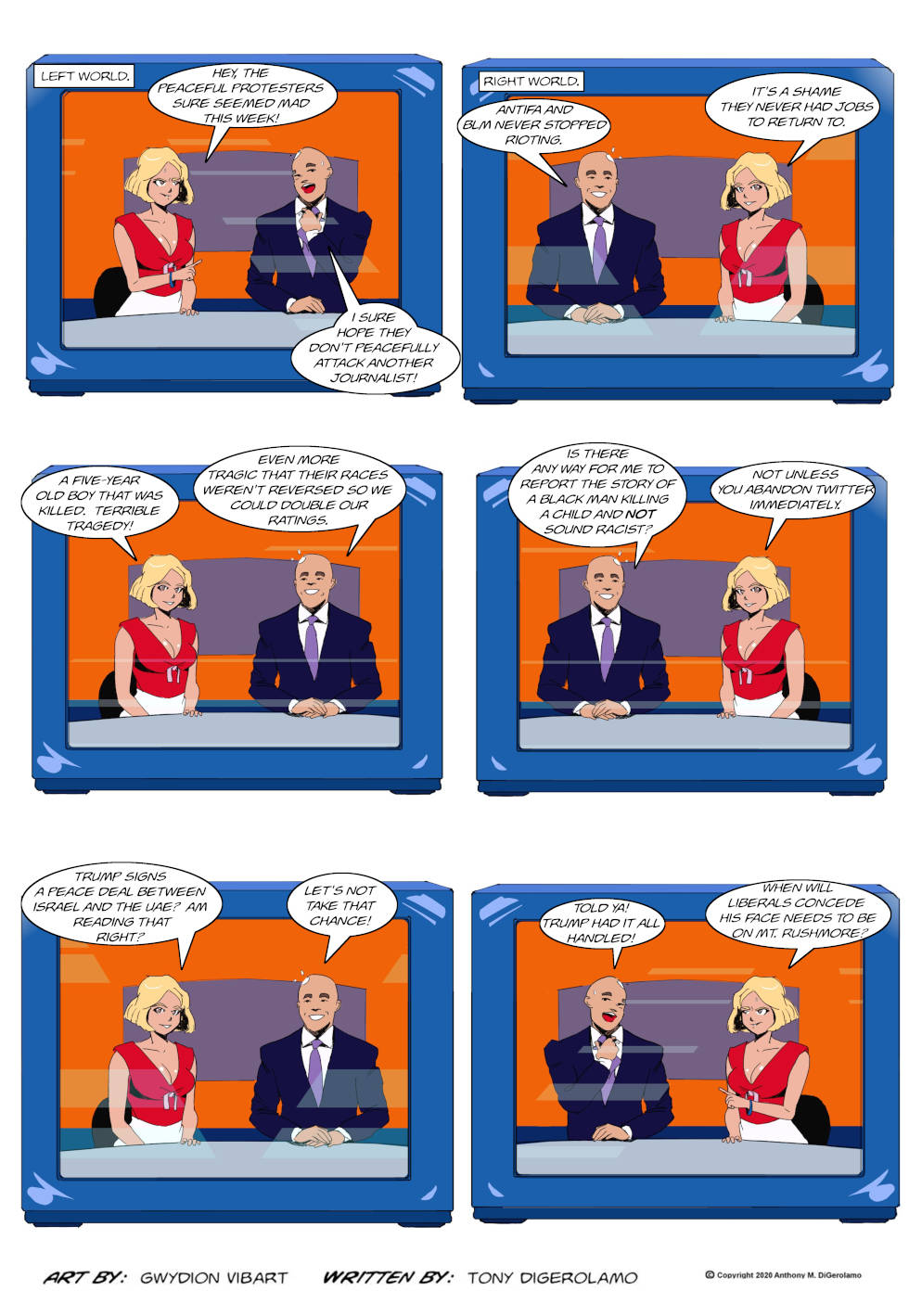 The Antiwar Comic:  Media War