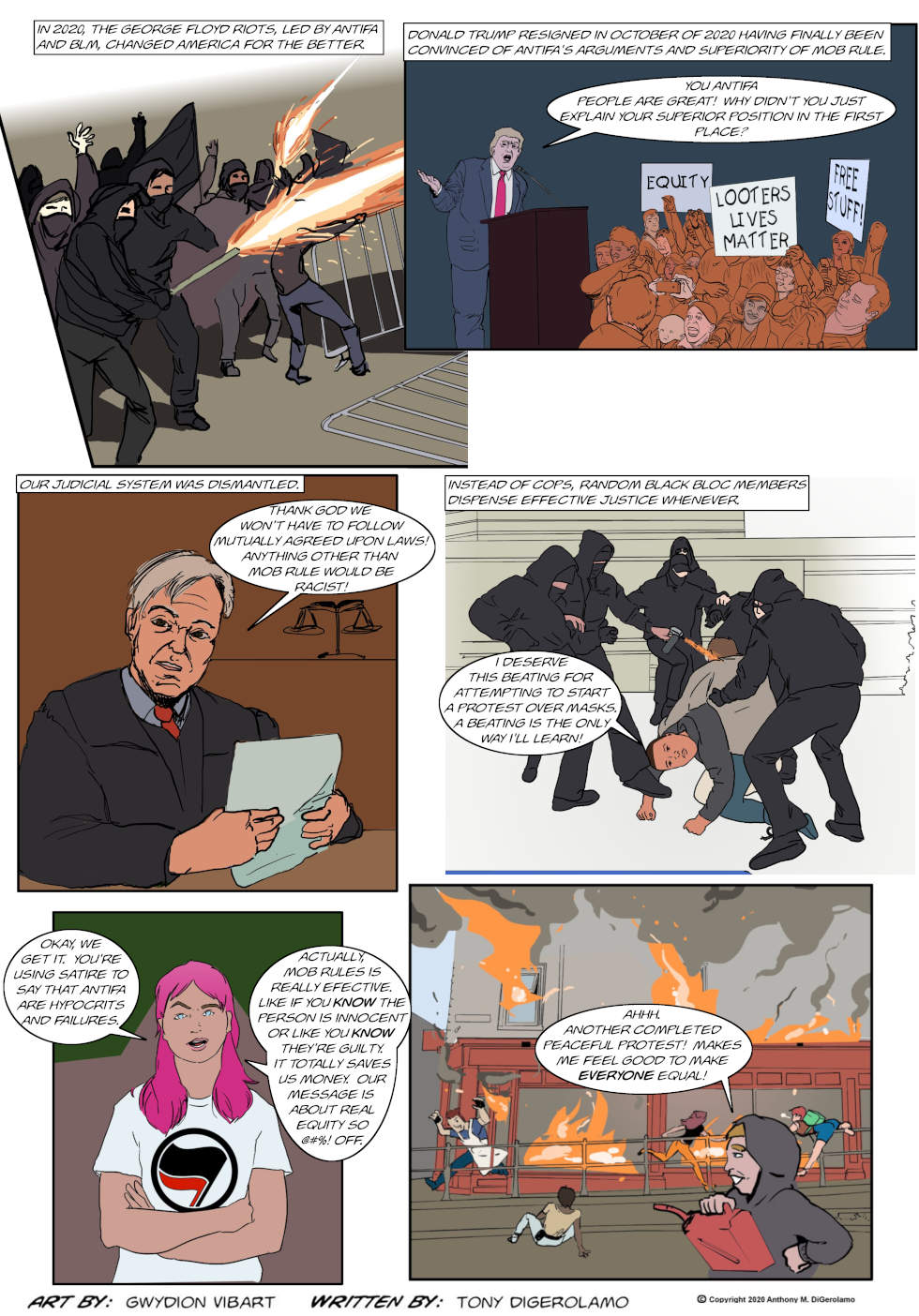 The Antiwar Comic:  Commies Never Win