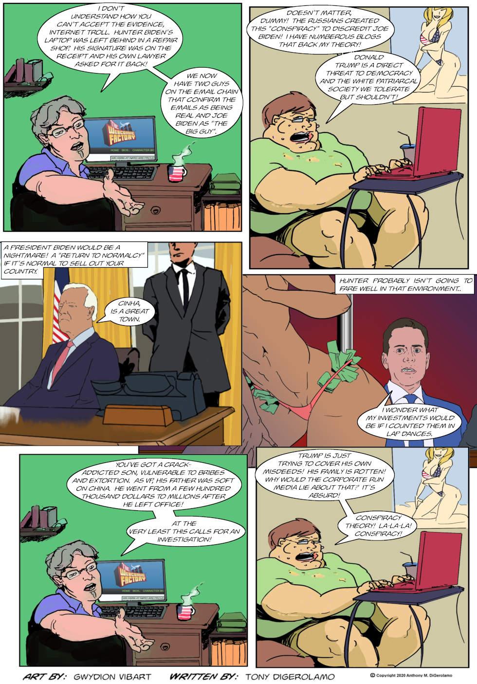 The Antiwar Comic:  The Biden Believers