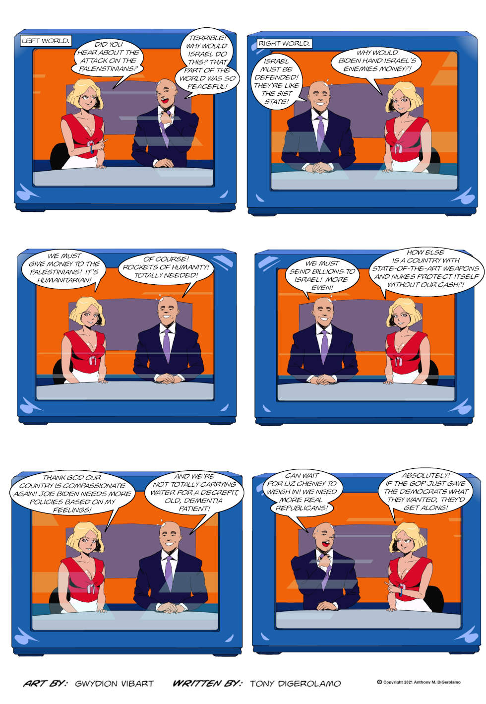 The Antiwar Comic: The Acceptable Opinion Box