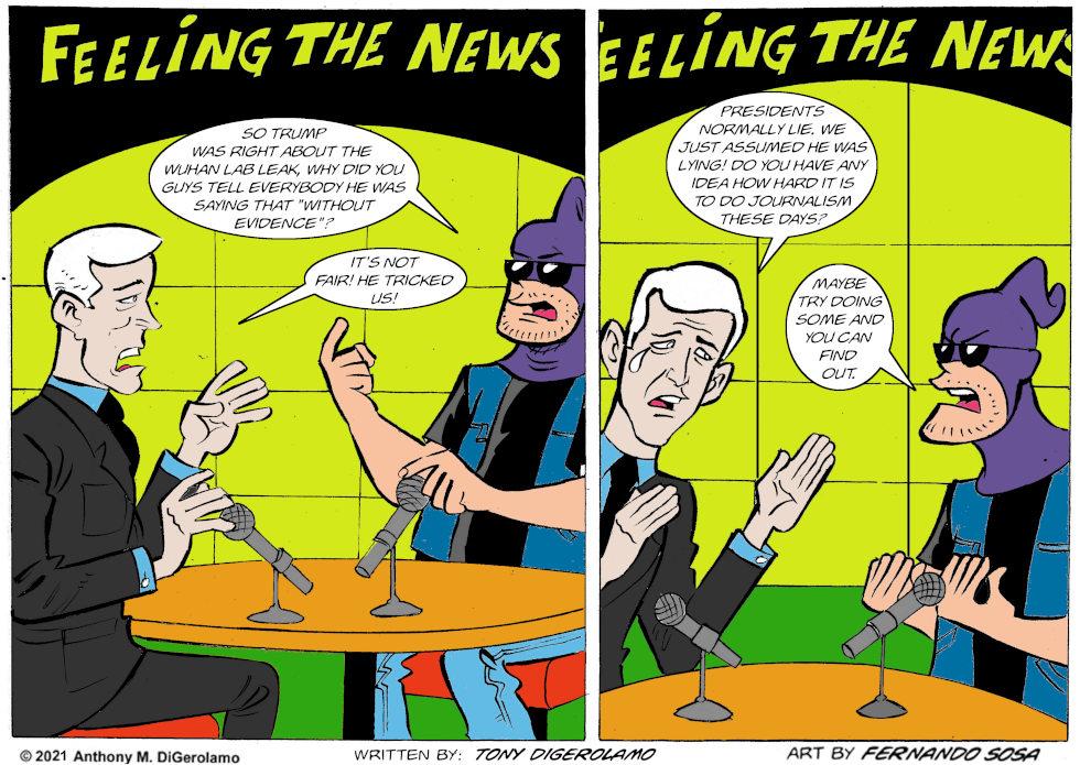 Tony Destructo: Newsing is Hard