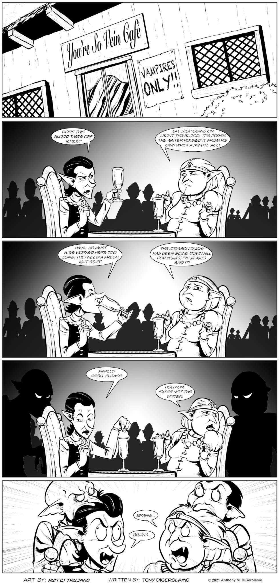 Pandamodium: You're Not the Waiter