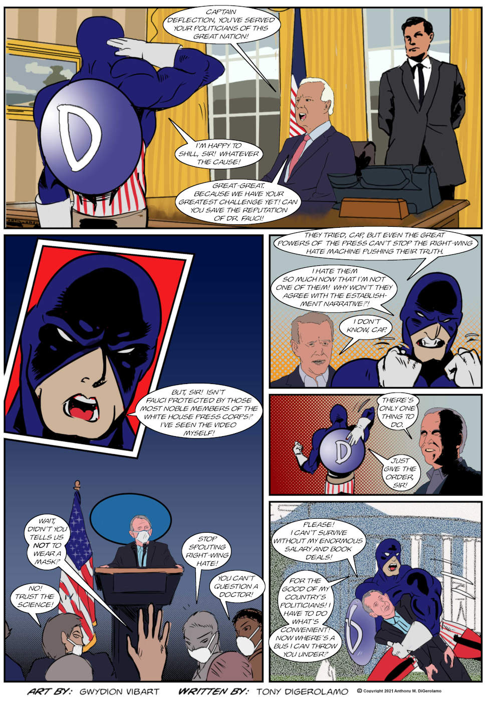 The Antiwar Comic: The War Against Responsibility