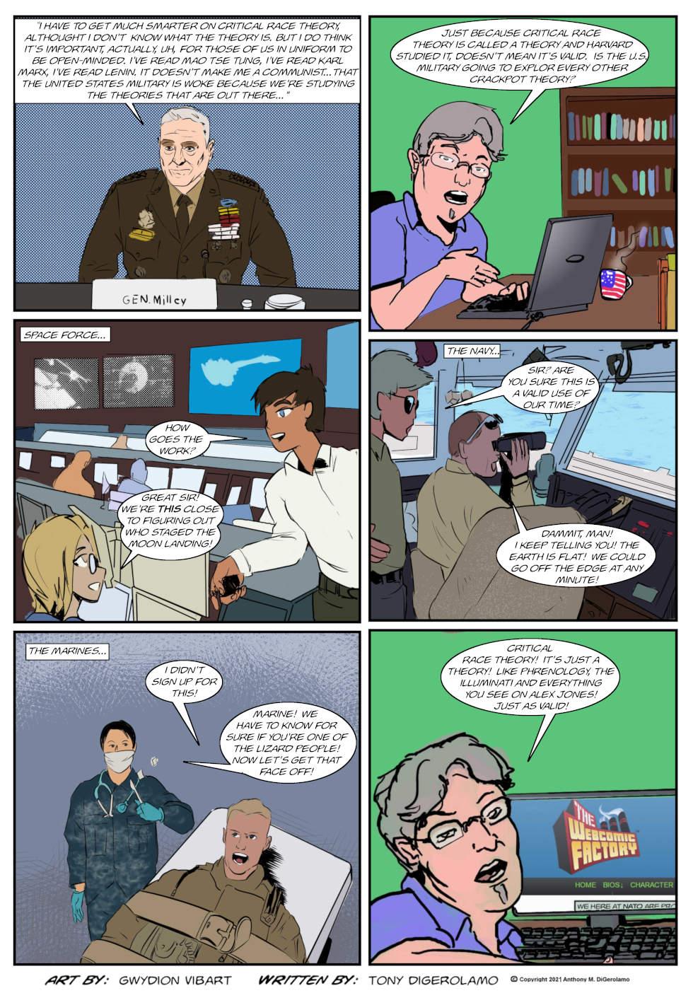 The Antiwar Comic: The Theory War