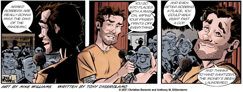 Miserable Comedians: Pandemic Advantage