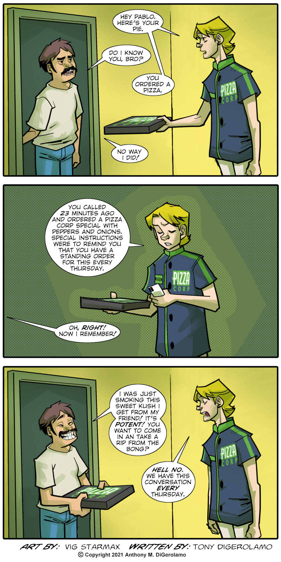 Tales of Pizza: Standing Order