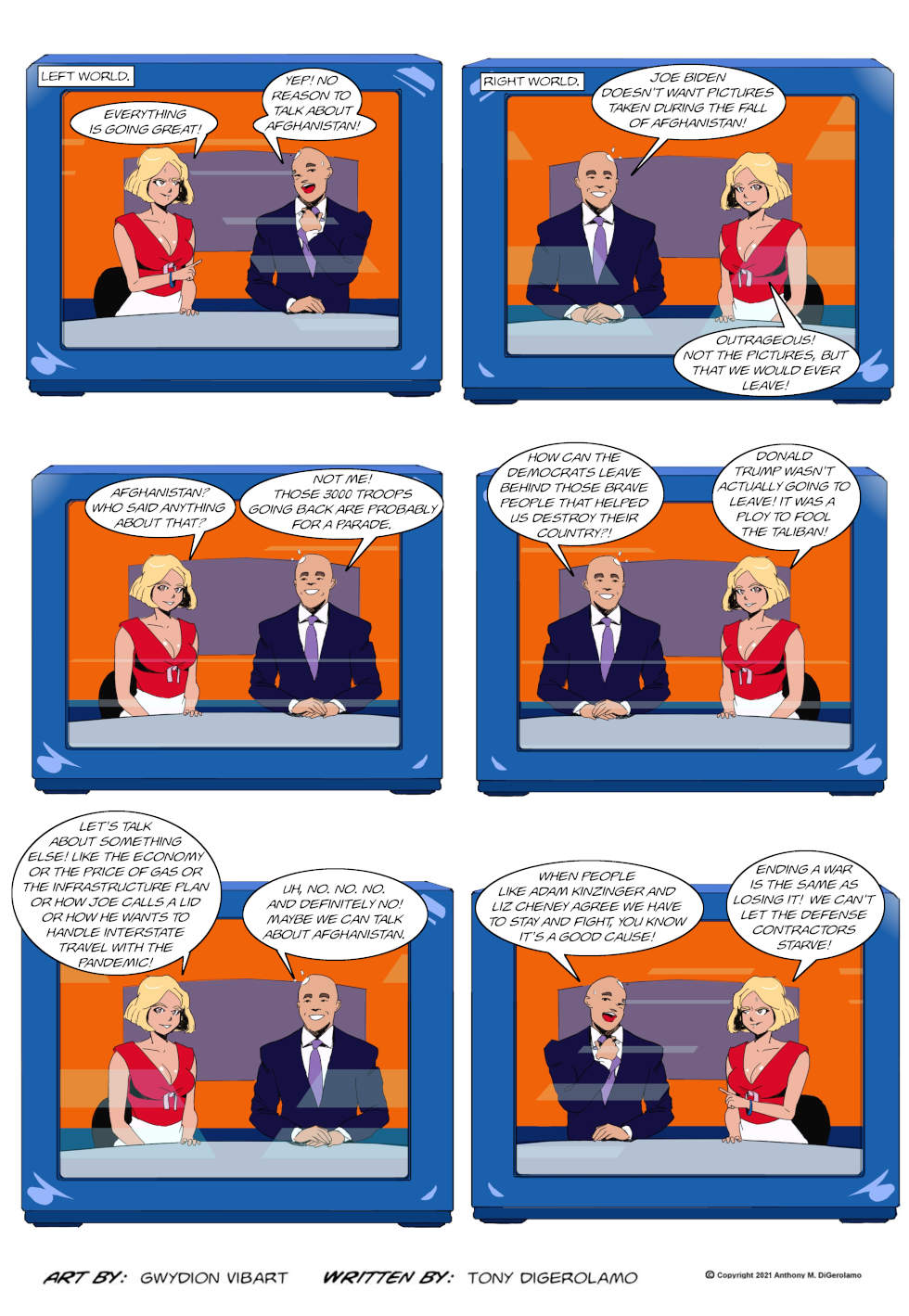 The Antiwar Comic: Afghanistan Forever