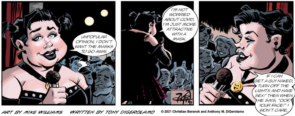 Miserable Comedians: Pro Mask