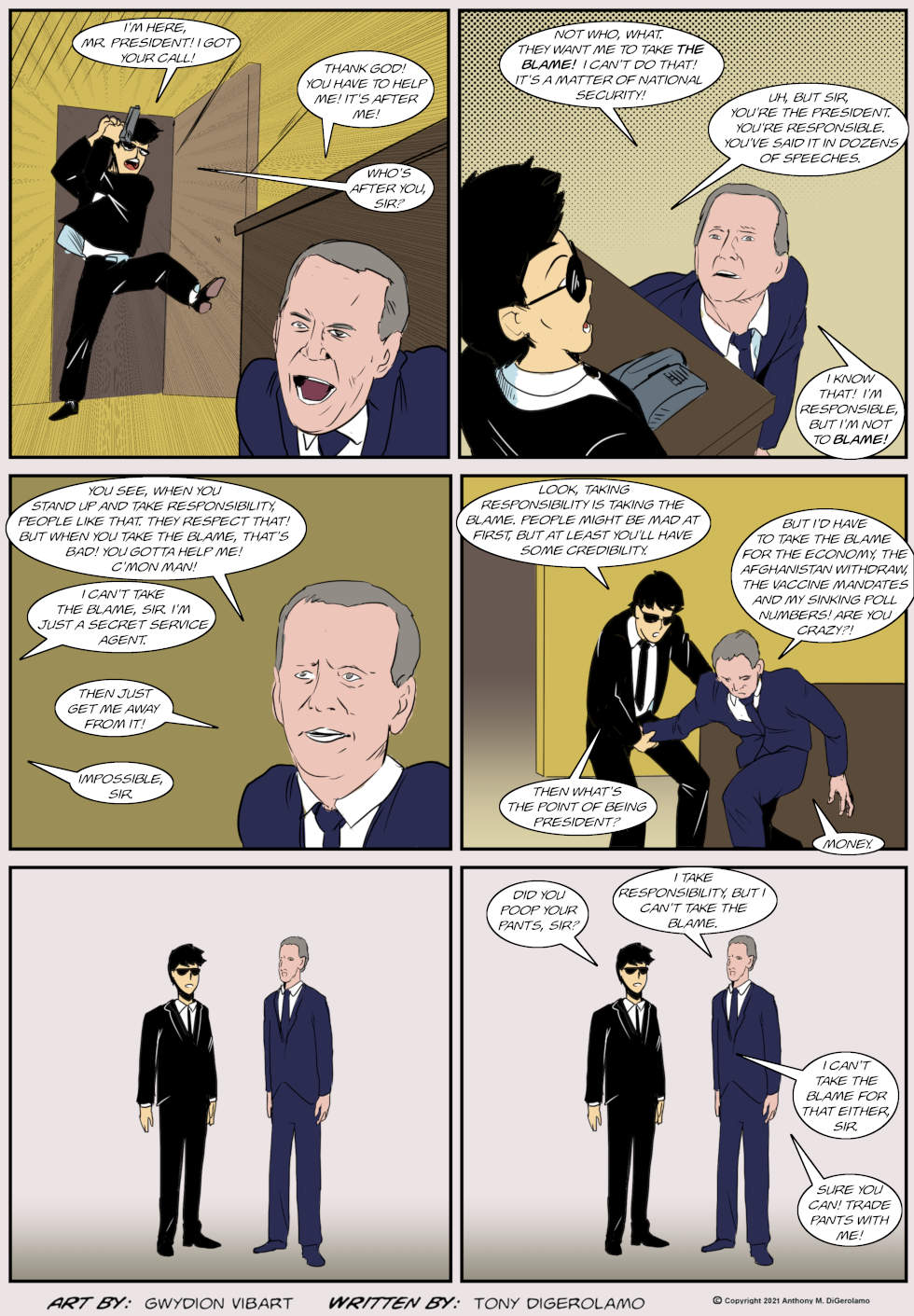 The Antiwar Comic: The Bane of All Presidents