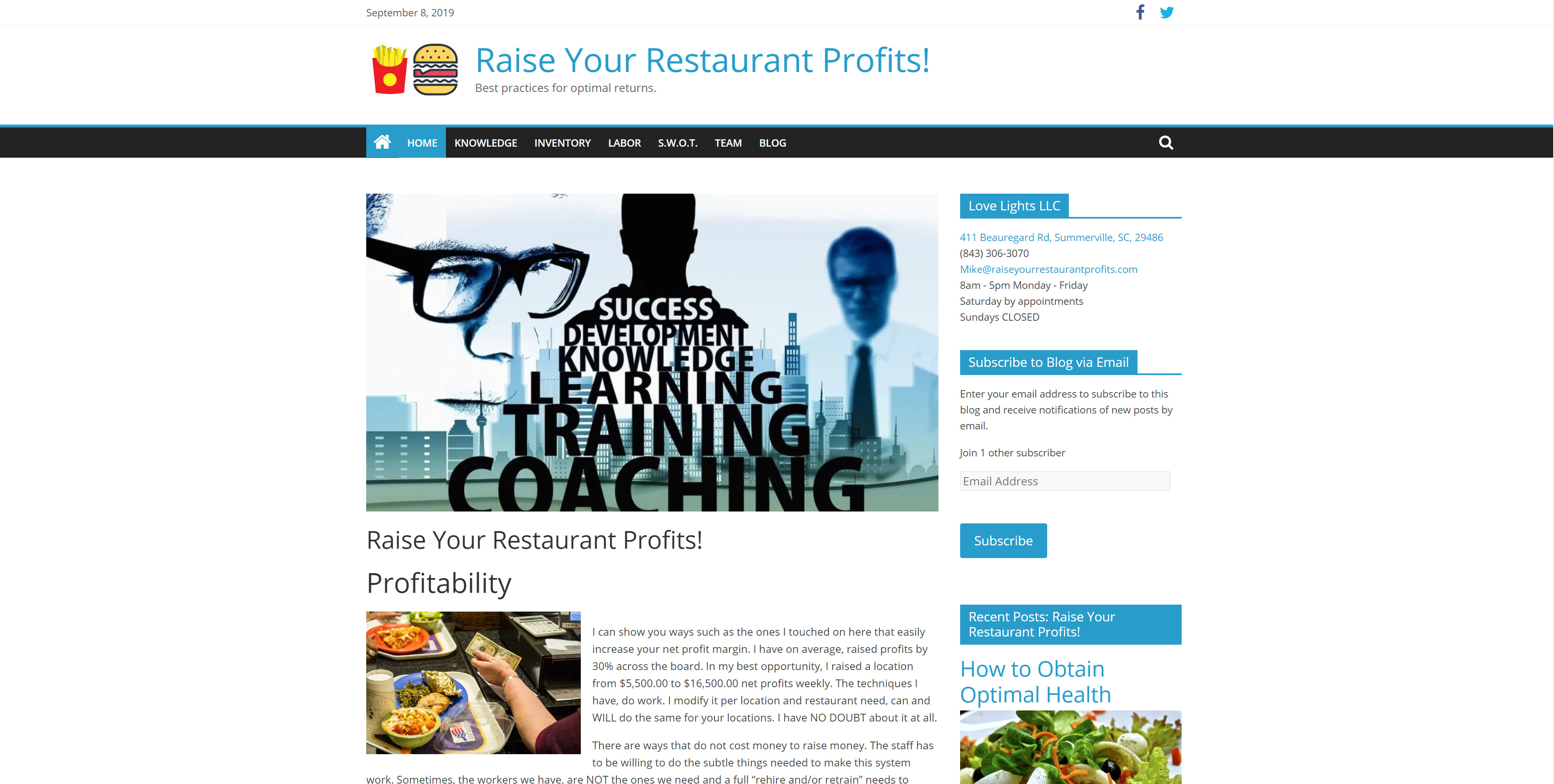 Raise Your Restaurant Profits!