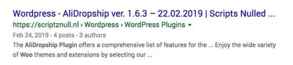 More Alidropship Woo Nulled Plugin Search Results on Google