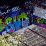 P etite Ceinture graffiti