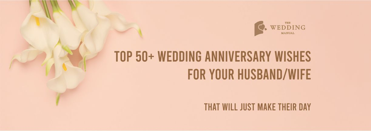 wedding anniversary wishes for husband and wife