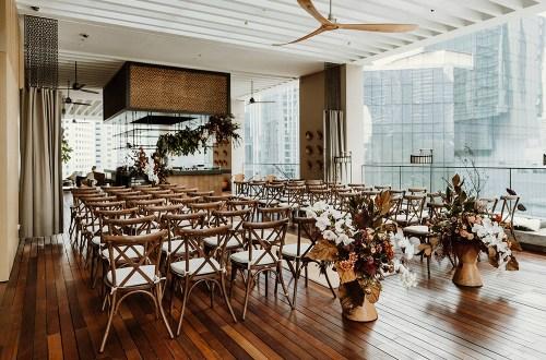 Interesting wedding ceremony venue in Kuala Lumpur - The RuMa Hotel and Residences. www.theweddingnotebook.com