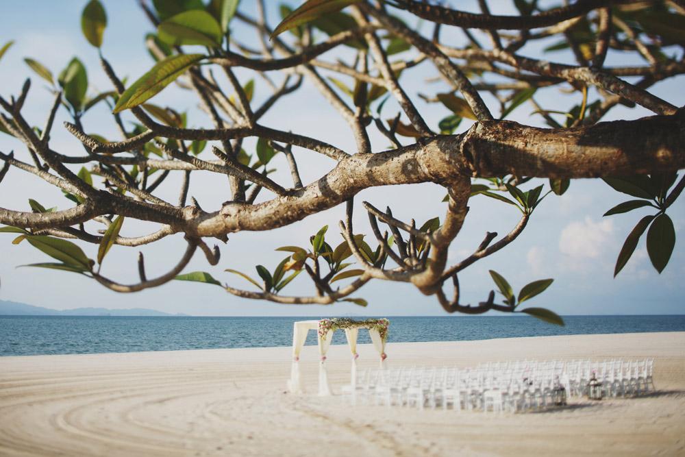 Four Seasons Resort Langkawi. Beach wedding venue in Malaysia.