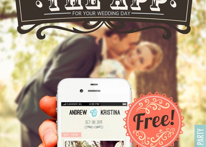 The wedding party app the wedding notebook magazine the wedding party app junglespirit Images