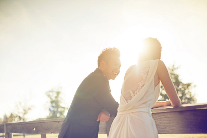 Bridal portraits in New Zealand by Raymond Phang Photography. www.theweddingnotebook.com