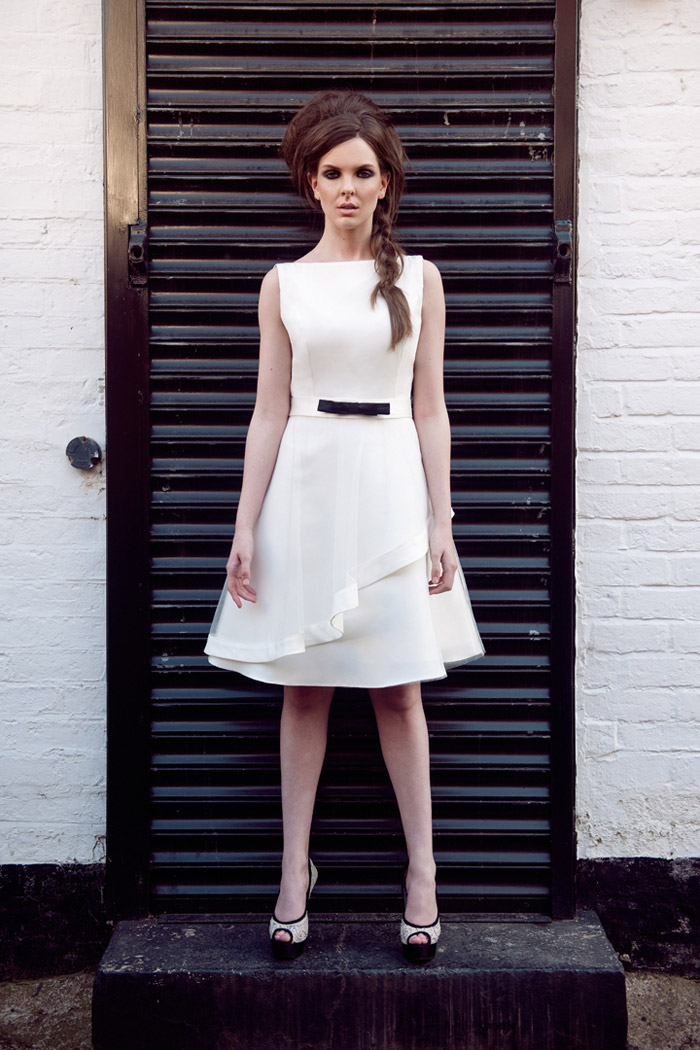 Tobi Hannah Spring 2014 – The Wall Collection. www.theweddingnotebook.com