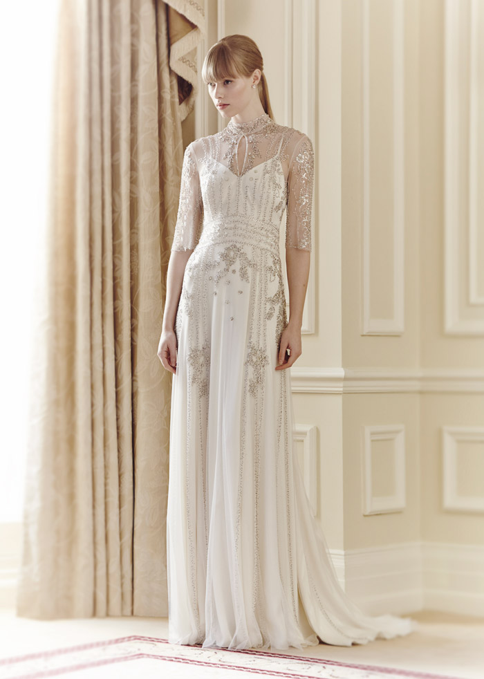 Alexia – Jenny Packham Spring 2014 Collection. www.theweddingnotebook.com