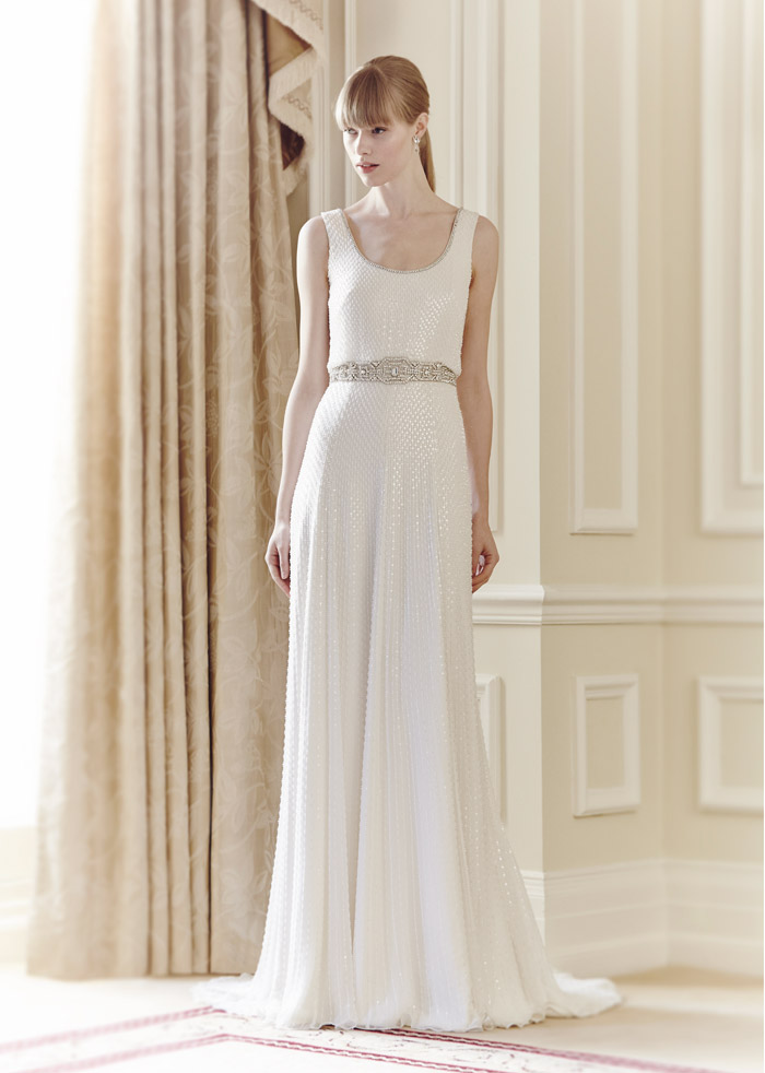Kathleen – Jenny Packham Spring 2014 Collection. www.theweddingnotebook.com
