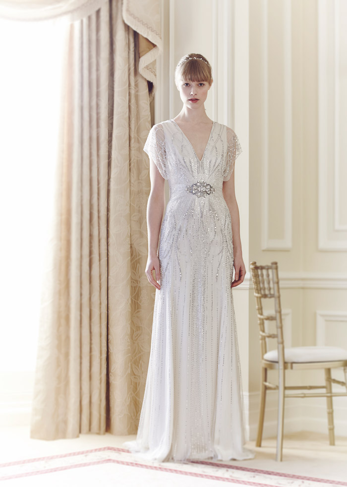 Florence – Jenny Packham Spring 2014 Collection. www.theweddingnotebook.com