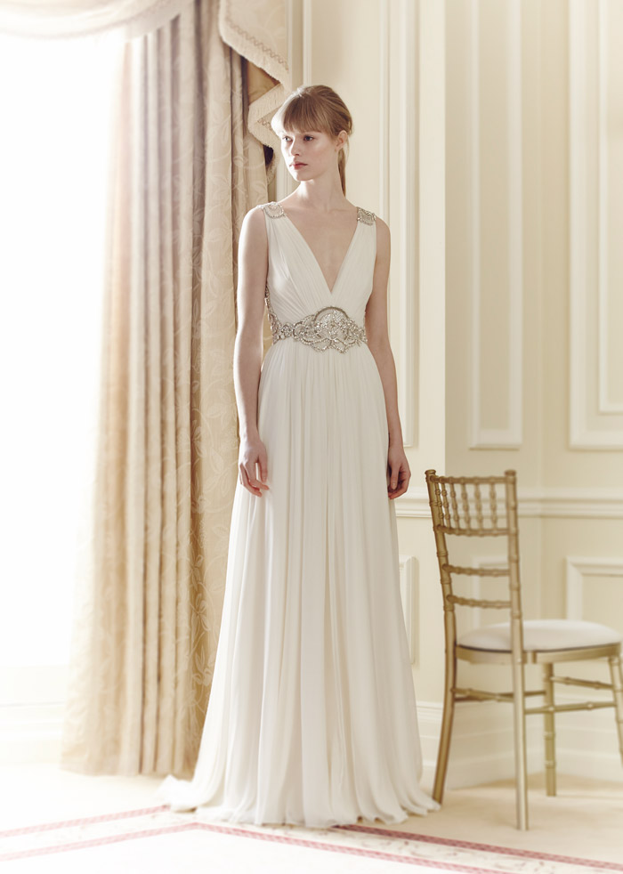 Daphne – Jenny Packham Spring 2014 Collection. www.theweddingnotebook.com