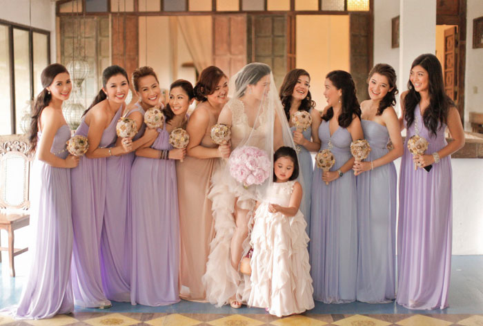 Bridesmaids' Dresses Roundup. Photo by MangoRed. www.theweddingnotebook.com