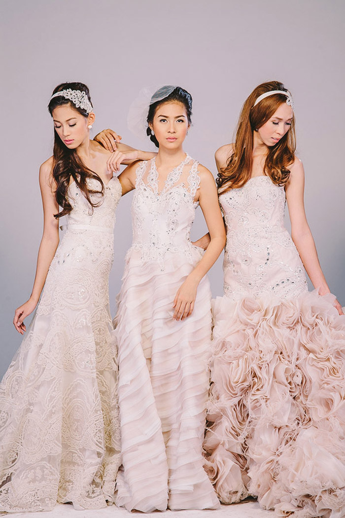 Jazel Sy 2013 Bridal Collection. Photography by Jun Estacio Photo. www.theweddingnotebook.com