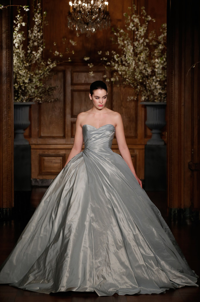 Romona Keveza Couture Spring 2014 Bridal Collection. www.theweddingnotebook.com. 1940's – A Return to Luxury