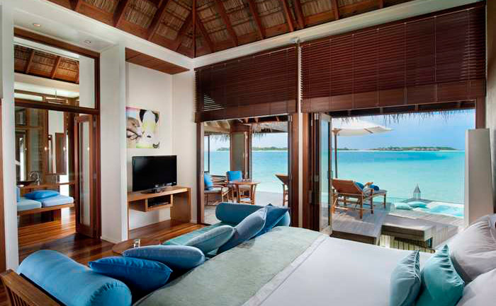 Conrad Maldives Rangali Island - 25 Must-See Honeymoon Resorts In Asia. www.theweddingnotebook.com