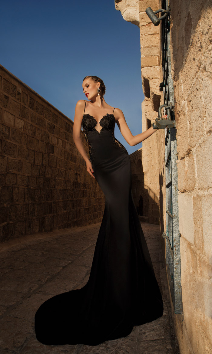 Saphron – Galia Lahav 2014 Evening Collection. www.theweddingnotebook.com