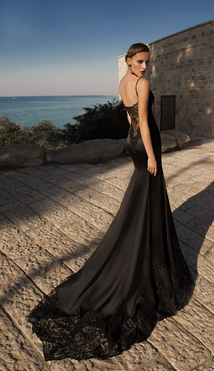 Marylin-Black – Galia Lahav 2014 Evening Collection. www.theweddingnotebook.com