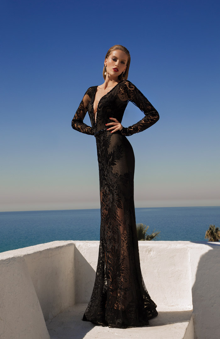 Comet – Galia Lahav 2014 Evening Collection. www.theweddingnotebook.com