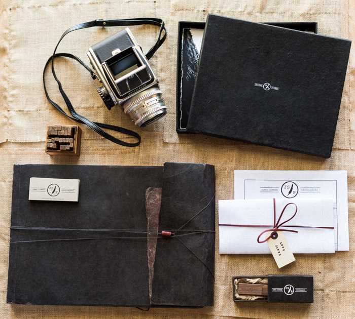 James Simmons Photography – What These Wedding Albums Tell Us About The Photographer. www.theweddingnotebook.com