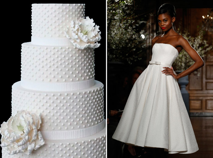 Left: Sweet Art, Australia; Right: Romona Keveza. www.theweddingnotebook.com