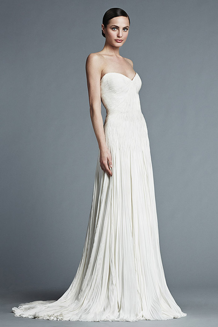 Liane – J. Mendel Bridal 2015 Collection. www.theweddingnotebook.com