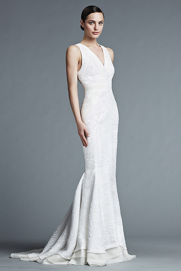 Lydia – J. Mendel Bridal 2015 Collection. www.theweddingnotebook.com