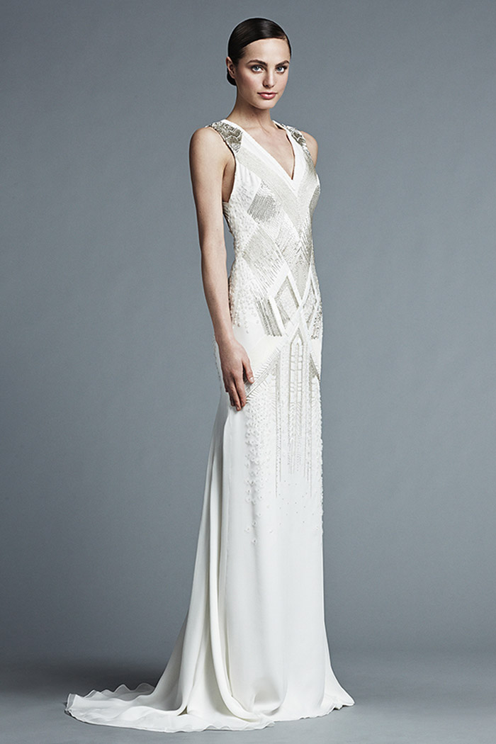 Alwina – J. Mendel Bridal 2015 Collection. www.theweddingnotebook.com