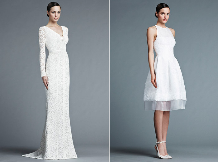 J. Mendel Bridal 2015 Collection. www.theweddingnotebook.com