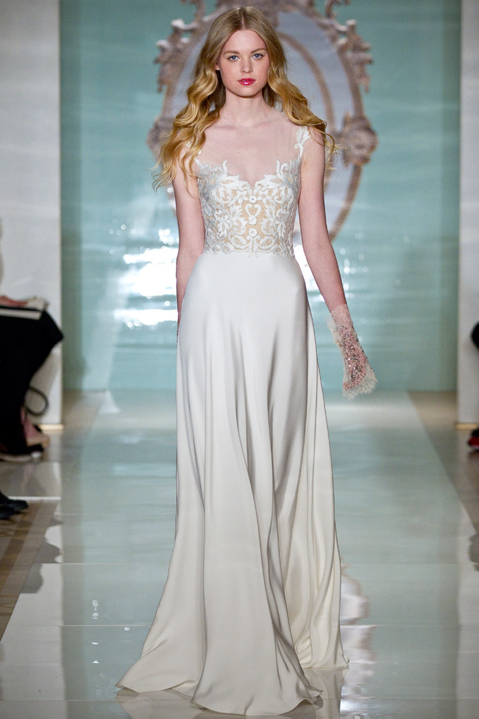 Reem Acra Spring 2015 Bridal Collection. www.theweddingnotebook.com