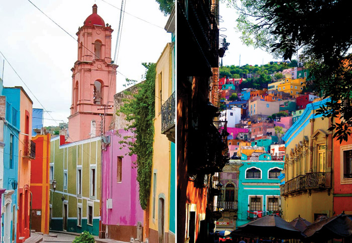 Guanajuato, Mexico. 16 Colourful Places In The World For Your Bridal Portraits. www.theweddingnotebook.com