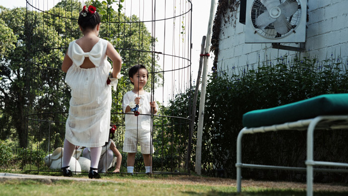 Flowergirls and Pageboy Attire by Lapinpin. Photo by thegaleria. www.theweddingnotebook.com