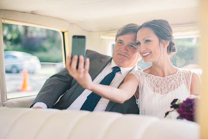 Selfies: A New Era In Wedding Day Photography. Photo by Anika London. www.theweddingnotebook.com