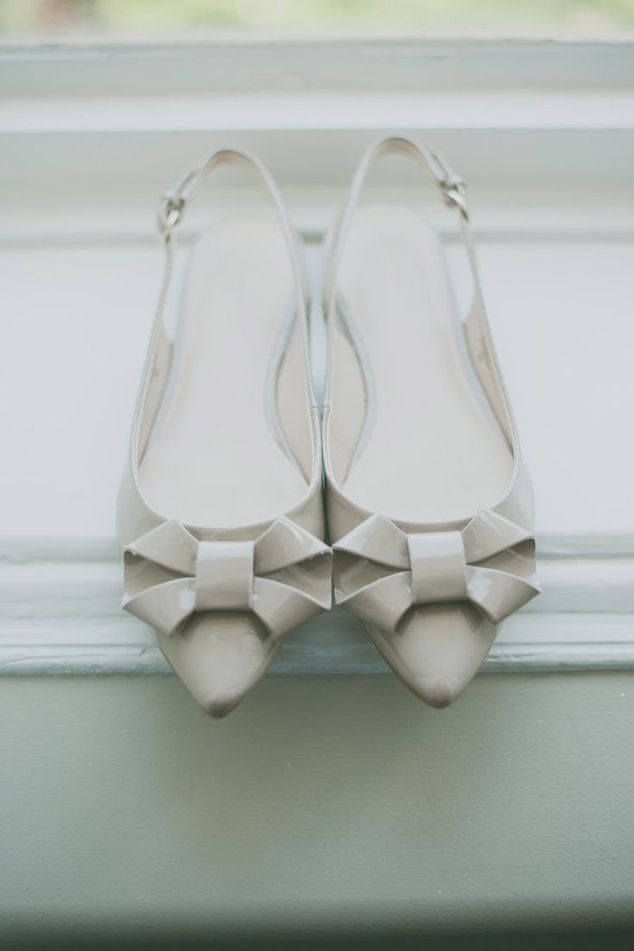 Bridal Shoes by Nine West. Photo by Day7 Photography