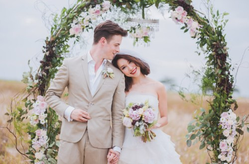 Multifolds Photography. Styling by Heaven In Wild Flower. www.theweddingnotebook.com