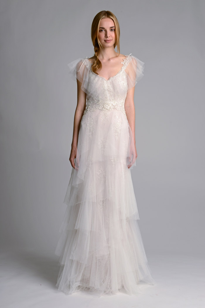 Marchesa Fall 2014 Bridal Collection. www.theweddingnotebook.com