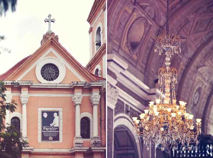 San Agustin Church Manila, Ph. Photo by Metrophoto. www.theweddingnotebook.com
