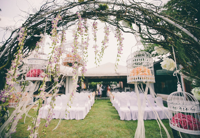 Ciao Ristorante garden wedding. Photo by Adam Ong Photography. www.theweddingnotebook.com width=
