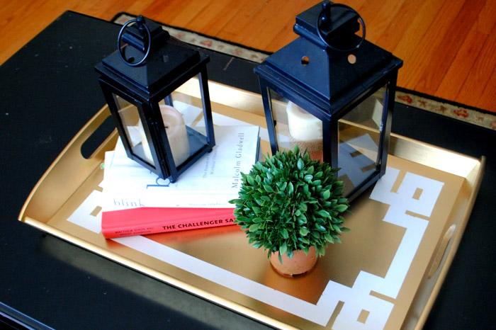 10 Clever IKEA Ideas And Hacks For Weddings - DIY Tray. www.theweddingnotebook.com